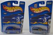 HOT WHEELS 2003 FIRST EDITIONS: BOOM BOX, DARK BLUE AND LIGHT BLUE